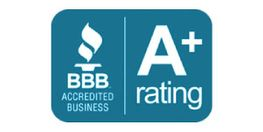 BBB Accredited Business – A+ Rating